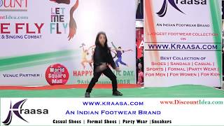Let Me Fly : Ms. Paridhi | Best Junior Dance Performance in India | www.DiscountIdea.com