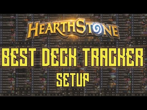 Hearthstone Deck Tracker Setup - Track Your Deck's Cards AND Your Stats! | Dekkster