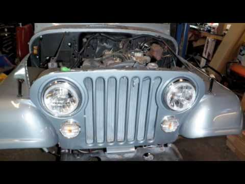 Jeep CJ 8 Scrambler Full Restoration Before and After