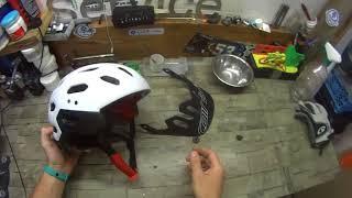 видео Велосипедный шлем из Китая