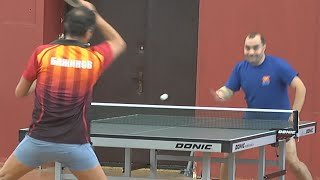 Ярослав БАЖИНОВ vs Дмитрий РАЗИНКОВ, Турнир КМС-Open, Настольный теннис, Table Tennis