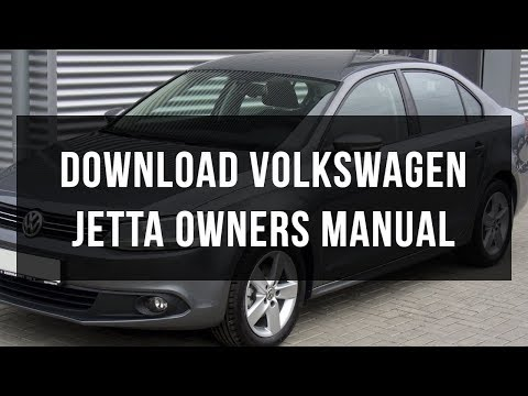 Download 2012 Volkswagen Jetta owners manual