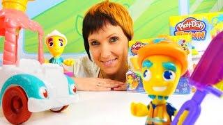 ПЛЕЙ ДО мороженое. Видео для детей. Маша и ее PLAY DOH TOWN