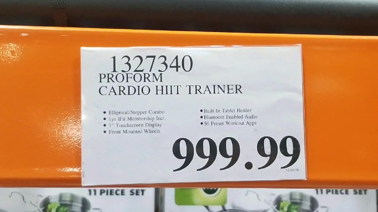 Costco! ProForm Cardio HIIT H7 - Smart