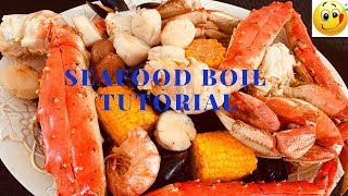 Seafood Boil Tutorial with Blove Seafood Sauce