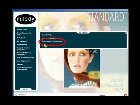 Milady Standard Cosmetology Course Management Guide CD ROM
