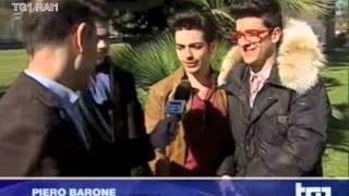 Il Volo short interview on TG1 - RAI 1 Feb 27, 2014