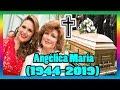 Descansa en paz   Angélica María, madre de Angélica Vale, falleció a los 74 años.
