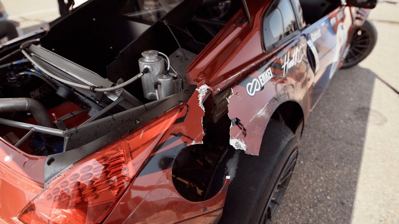 Destroying my 350Z on the Last Day of Gridlife…