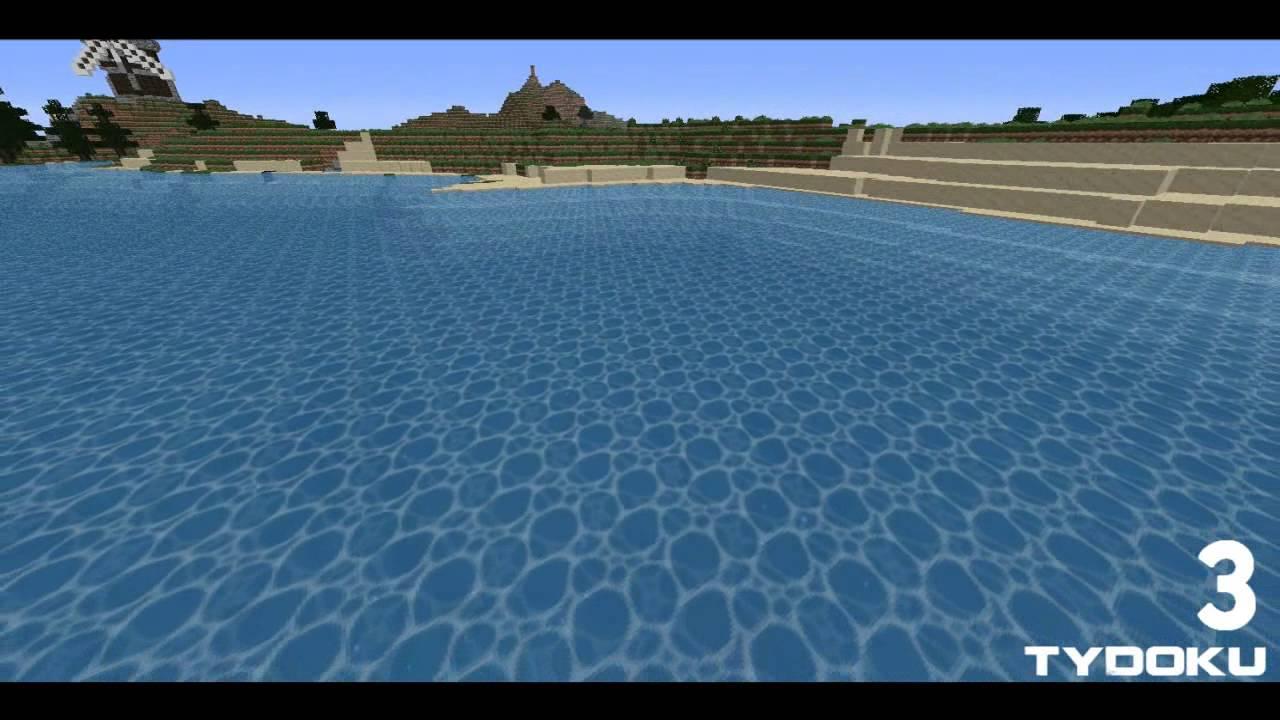 Top 5 Minecraft 1 5 Water Textures Youtube