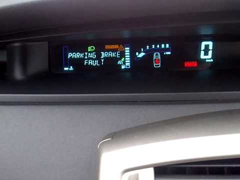 Renault Grand Scenic Electronic Handbrake Failure