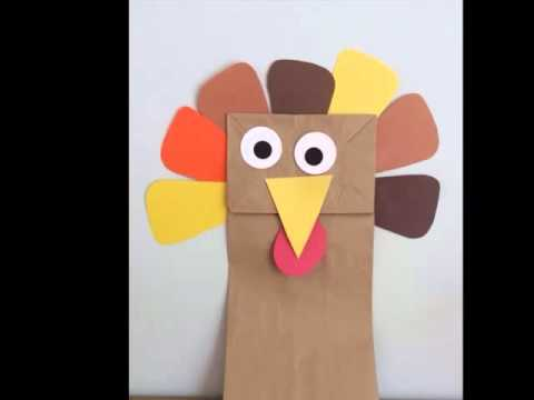 Paper Bag Turkey Craft| Diy Picture Ideas | Beautiful Handmade Set Of Collection