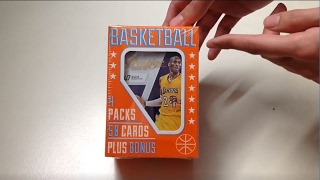 Fairfield 4 Packs & 50 Basketball Cards Plus Bonus Unboxing
