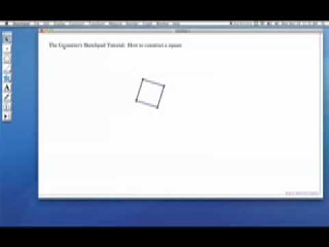 Geometer 39 s sketchpad constructing a youtube for Sketchpad com