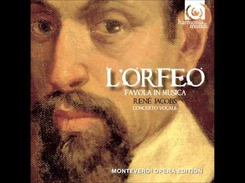Monteverdi's L'Orfeo - Act 1 Vieni, Imeneo