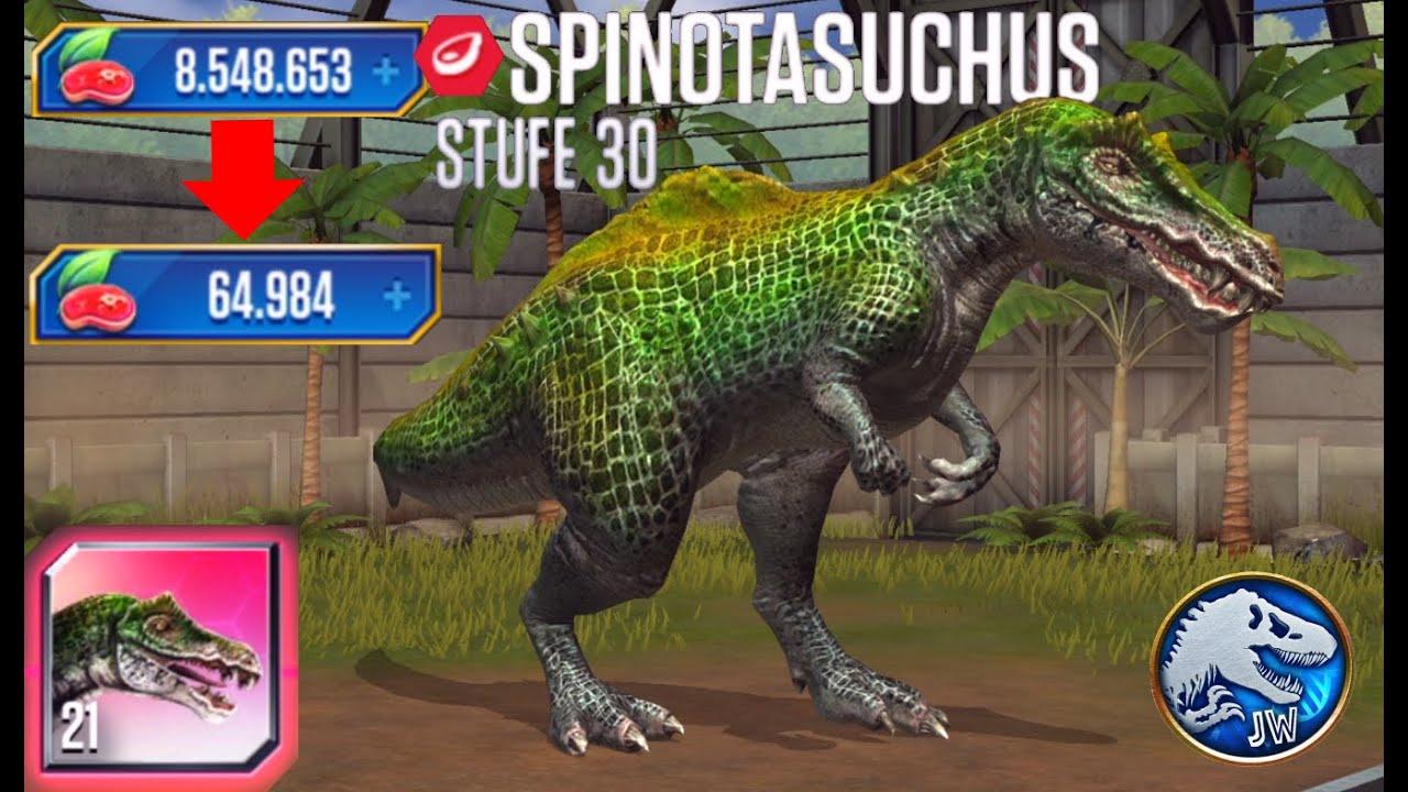 Jurassic World: Das Spiel #366 Spinotasuchus Lvl.30 & katastrophale Gyrosphäre! [Ger/HD] | Marcel