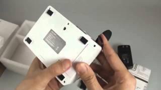 UNIC UC18 Mini LCD Projector 320 x 180, 48 Lumens, Remote Control, HDMI, AV
