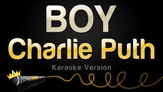 Charlie Puth - BOY (Karaoke Version)