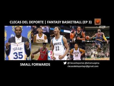 Fantasy Basketball | NBA SFs (En Español, Fully in Spanish) Episodio 7