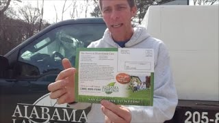 Check out my lawn care marketing postcard for EDDM