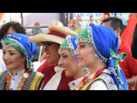 13th World Festival of Traditional Dances - 3rd Day - Parade of Foreign & Greek Dance Groups