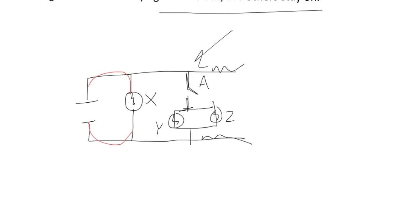 Drawing Circuit Diagrams - YouTube