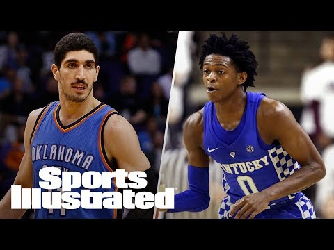 NBA: OKC Thunder's Enes Kanter Slams Durant, De'Aaron Fox Te