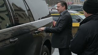 Tony Stewart and Ward family leave federal court