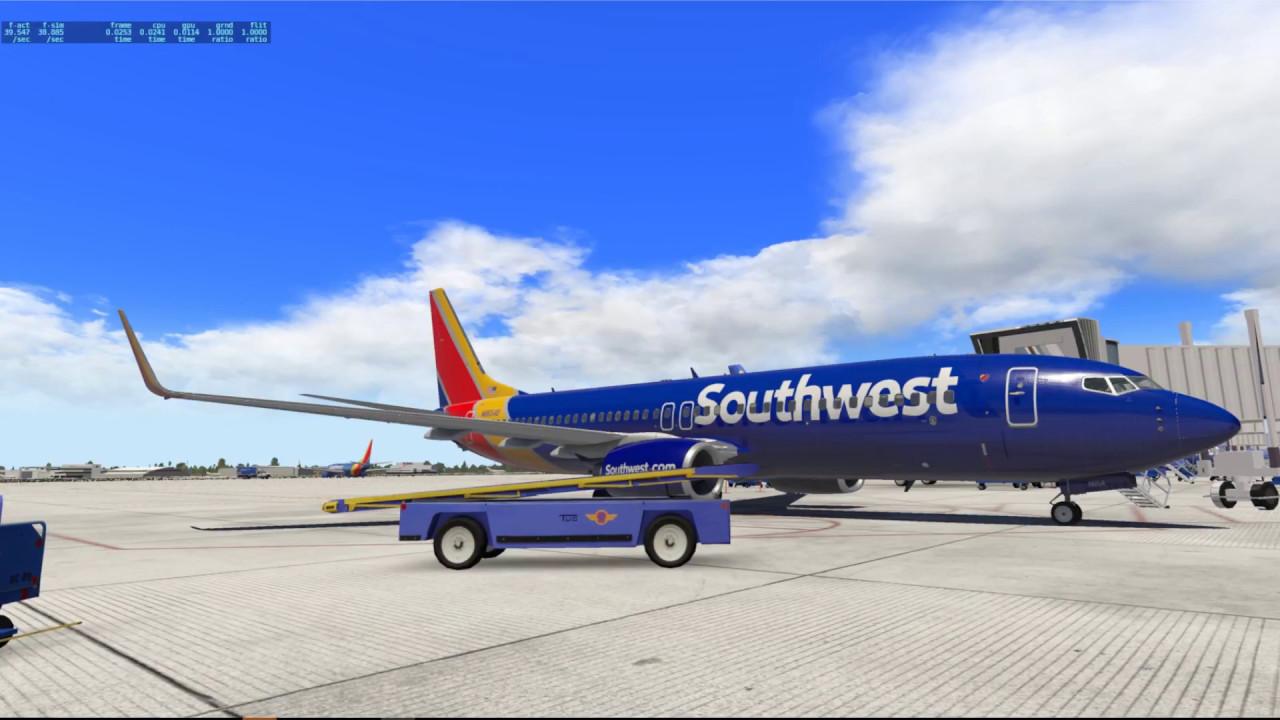 [X-Plane 11] DAL-OKC 737-800 Zibo Tutorial