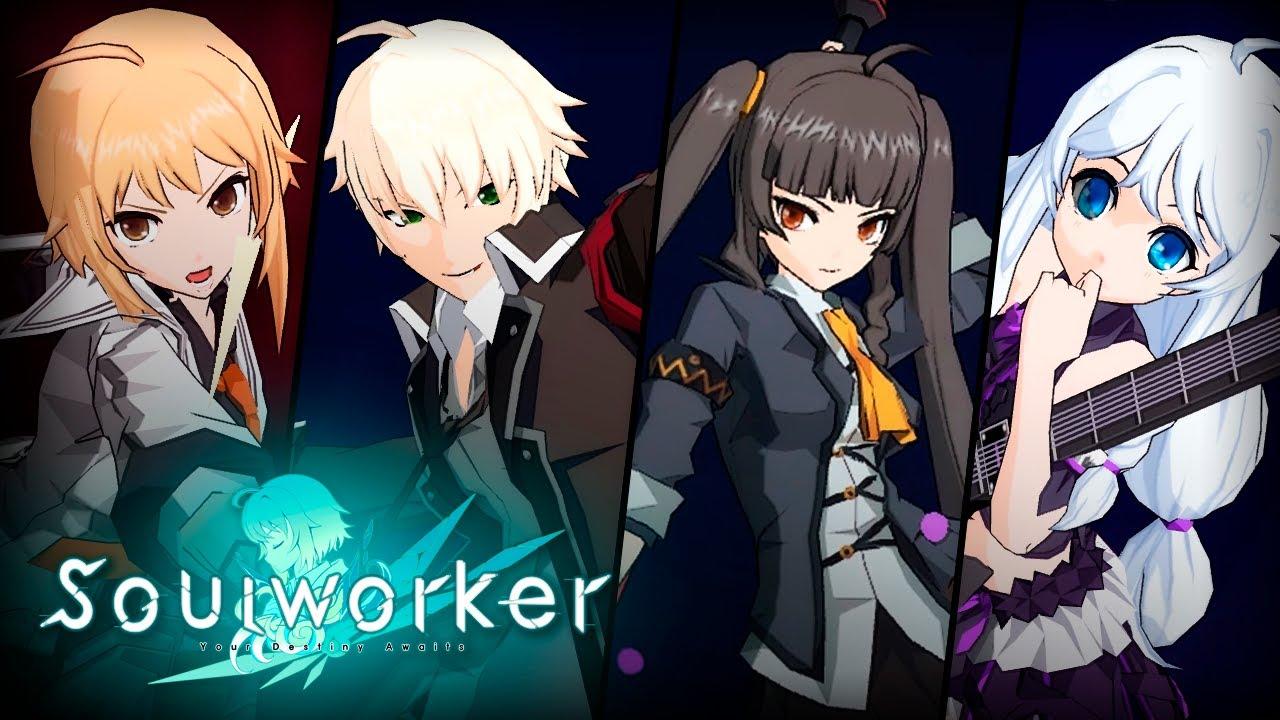 Resultado de imagem para soul worker anime