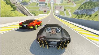 High Speed Jump Crashes Beamng Drive Compilation #17 (BeamNG Drive Crashes)