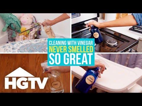 4 DIY Scented Vinegar Cleaners - Easy Does It - HGTV