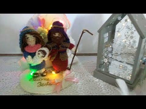 Presepe Amigurumi Tutorial (Bambino) Parte 3 Natale - Christmas ...   360x480
