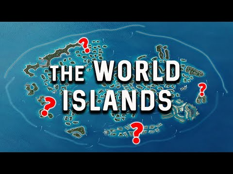 The World Islands Dubai   $14 BILLION bet on Man-made Islands