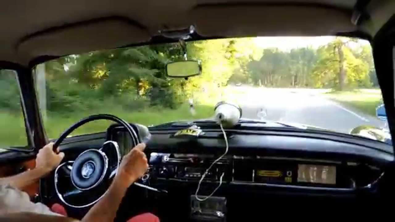 Mercedes Heckflosse 190dc Von 1965 Innenmitfahrt Youtube