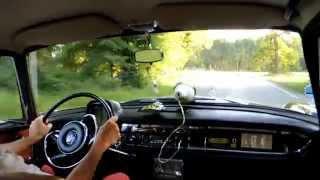 Mercedes Heckflosse 190Dc von 1965: Innenmitfahrt