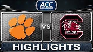 Clemson vs South Carolina   2013 ACC Football Highlights