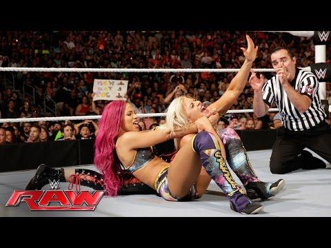 Sasha Banks & Paige vs. Charlotte & Dana Brooke: Raw, June 27, 2016
