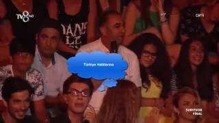Yılmaz Morgül  Türkiye Halkları diyen Kürd'e Ağzının payını veriyor.