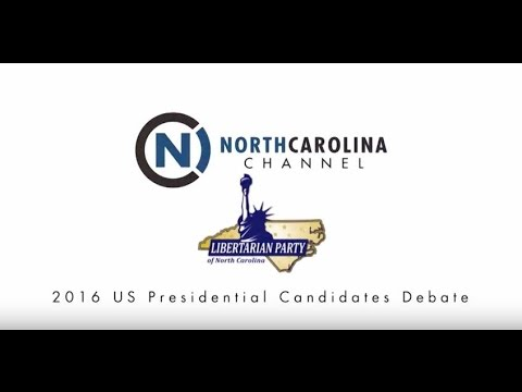 NC Libertarian Party Presidential Candidates' Debate | NC Channel