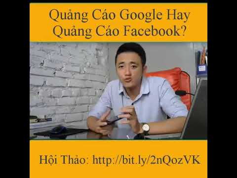 QUẢNG CÁO Website Google hay  Facebook Adwords (Moma)