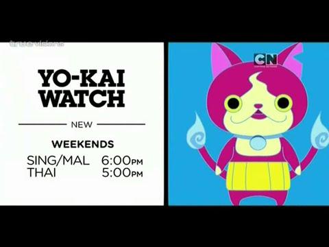 Cartoon Network Asia : Yo-kai Watch! (New Show)[Promo]