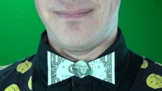 $1 Origami Bow Tie