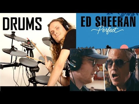 Ed Sheeran - Perfect Symphony (with Andrea Bocelli) Drum Cover By BOBNAR