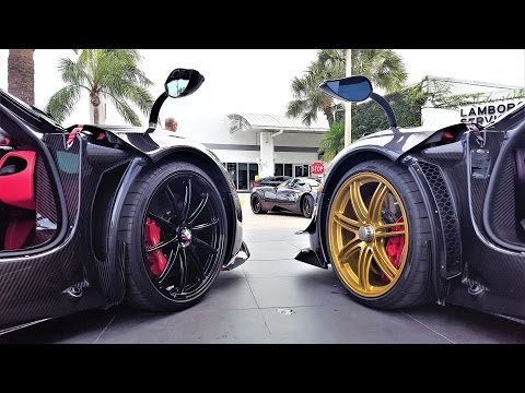 First Pagani Huayra BC delivered in US. Crazy BEAST at Pagani Miami