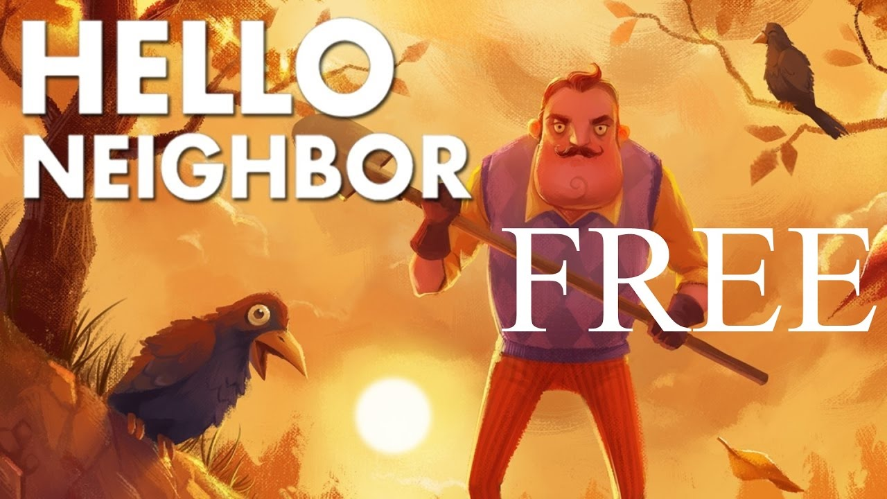 hello neighbor pre alpha free download