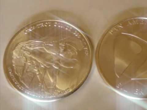 Silver Porn 1oz silver coins Pan American silver corp NWT
