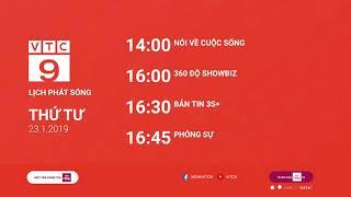 Lịch phát sóng VTC9 ngày 23/01/2019