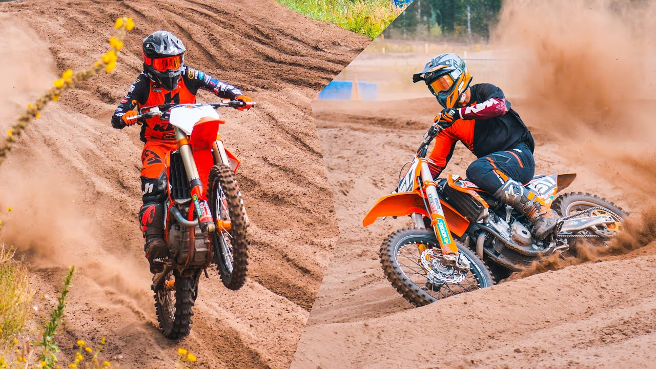 RAW motocross training in Dutch sand with Isak Gifting & Kevin Horgmo