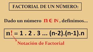 Factorial: Definición, Propiedades y Simplificación